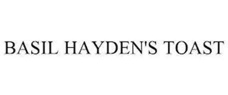 BASIL HAYDEN'S TOAST