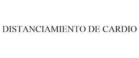 DISTANCIAMIENTO DE CARDIO