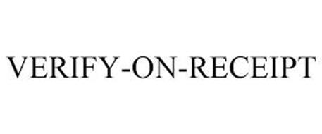 VERIFY-ON-RECEIPT