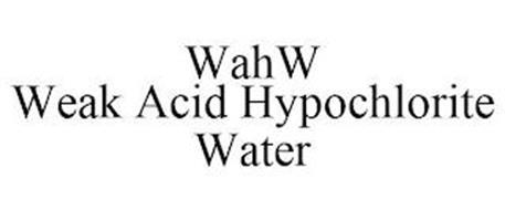 WAHW WEAK ACID HYPOCHLORITE WATER