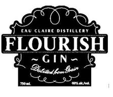 EAU CLAIRE DISTILLERY FLOURISH ~ GIN ~ DISTILLED FROM GRAIN