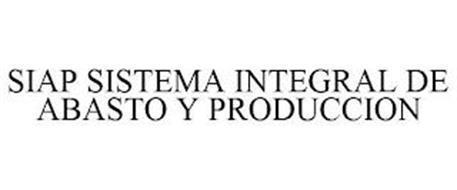 SIAP SISTEMA INTEGRAL DE ABASTO Y PRODUCCION