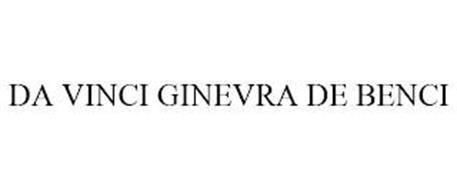 DA VINCI GINEVRA DE BENCI
