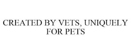 CREATED BY VETS, UNIQUELY FOR PETS
