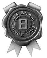 B JIM BEAM SINCE 1795