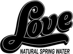 LOVE NATURAL SPRING WATER