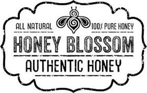 ALL NATURAL 100% PURE HONEY HONEY BLOSSOM AUTHENTIC HONEY