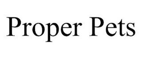 PROPER PETS