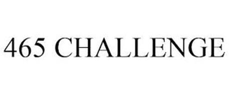 465 CHALLENGE
