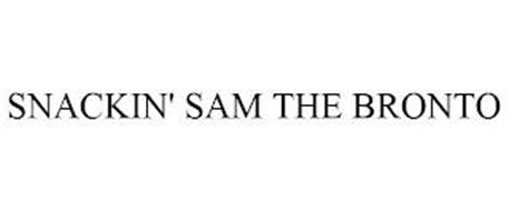 SNACKIN' SAM THE BRONTO