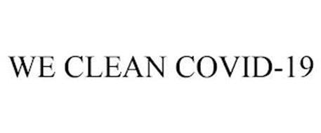 WE CLEAN COVID-19