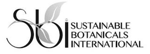 SBI SUSTAINABLE BOTANICALS INTERNATIONAL