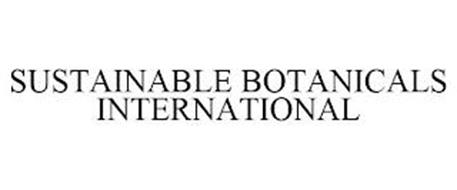 SUSTAINABLE BOTANICALS INTERNATIONAL
