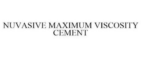 NUVASIVE MAXIMUM VISCOSITY CEMENT