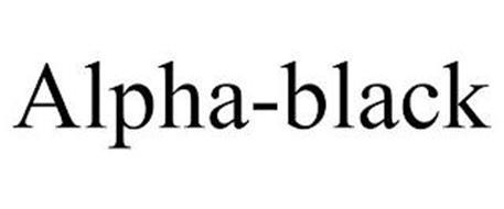 ALPHA-BLACK