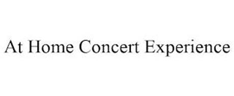 AT HOME CONCERT EXPERIENCE