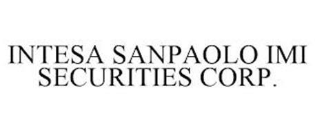 INTESA SANPAOLO IMI SECURITIES CORP.