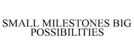 SMALL MILESTONES BIG POSSIBILITIES