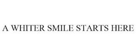 A WHITER SMILE STARTS HERE