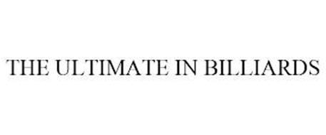 THE ULTIMATE IN BILLIARDS