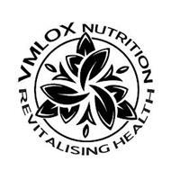 VMLOX NUTRITION REVITALISING HEALTH