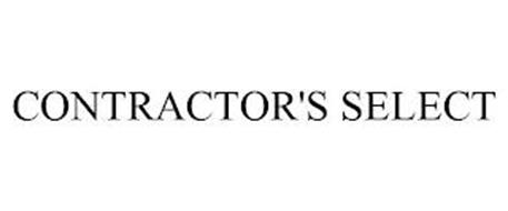 CONTRACTOR'S SELECT