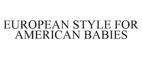 EUROPEAN STYLE FOR AMERICAN BABIES