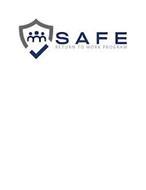 SAFE RETURN TO WORK PROGRAM