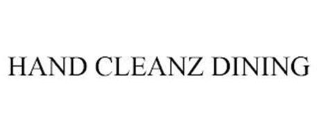 HAND CLEANZ DINING