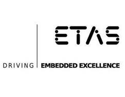 ETAS DRIVING EMBEDDED EXCELLENCE