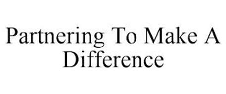 PARTNERING TO MAKE A DIFFERENCE