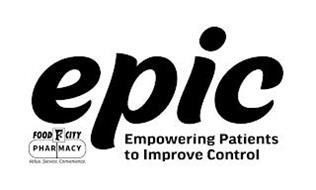 EPIC EMPOWERING PATIENTS TO IMPROVE CONTROL FOOD FC CITY PHARMACY VALUE. SERVICE. CONVENIENCE.