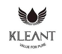 KLEANT VALUE FOR PURE