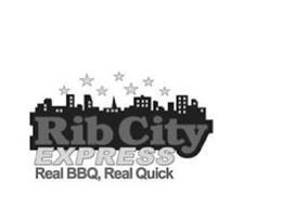 RIB CITY EXPRESS REAL BBQ, REAL QUICK