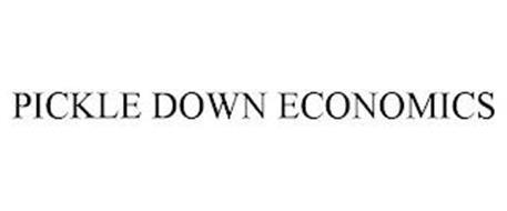 PICKLE DOWN ECONOMICS