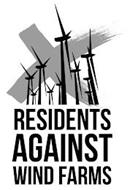 X RESIDENTS AGAINST WIND FARMS