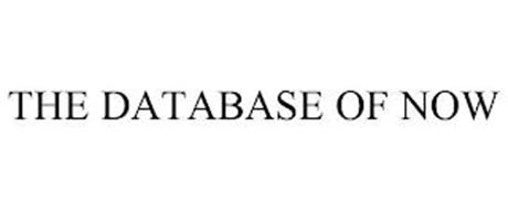 THE DATABASE OF NOW