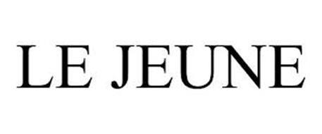 LE JEUNE