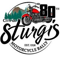 80TH CITY OF STURGIS EST. 1938 MOTORCYCLE RALLY