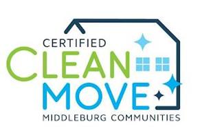 CERTIFIED CLEAN MOVE MIDDLEBURG COMMUNITIES