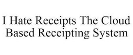 I HATE RECEIPTS THE CLOUD BASED RECEIPTING SYSTEM