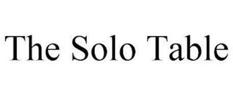 THE SOLO TABLE
