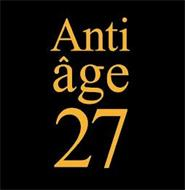 ANTI ÂGE 27