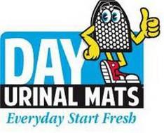 DAY URINAL MATS EVERYDAY START FRESH