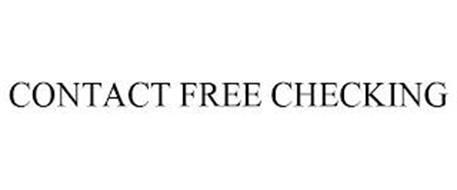 CONTACT FREE CHECKING