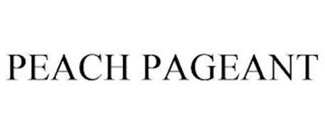 PEACH PAGEANT