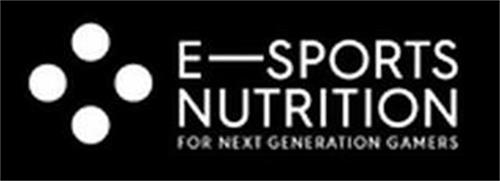 E-SPORTS NUTRITION FOR NEXT GENERATION GAMERS