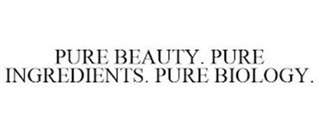 PURE BEAUTY. PURE INGREDIENTS. PURE BIOLOGY.