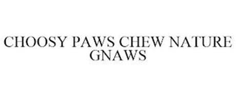 CHOOSY PAWS CHEW NATURE GNAWS