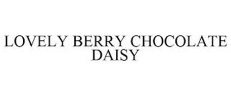 LOVELY BERRY CHOCOLATE DAISY